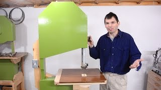 Bandsaw reassembly and answering questions