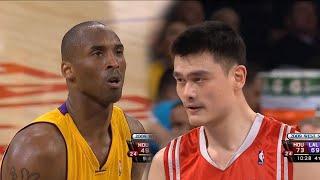 Yao Ming vs Kobe Bryant Full Duel Highlights 2009 WCSF 1 - 60 Pts, 18 Rebs Combind!!!