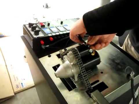 Как сделать стенд для проверки генераторов и стартеров