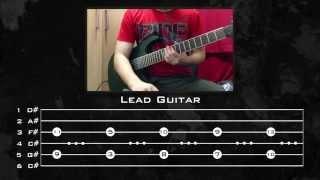 Linkin Park - Crawling (Guitar Tutorial w/ Tabs) By Kirjai