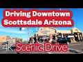 Driving in Arizona- 4k Scenic Drive Tour Scottsdale AM Tour