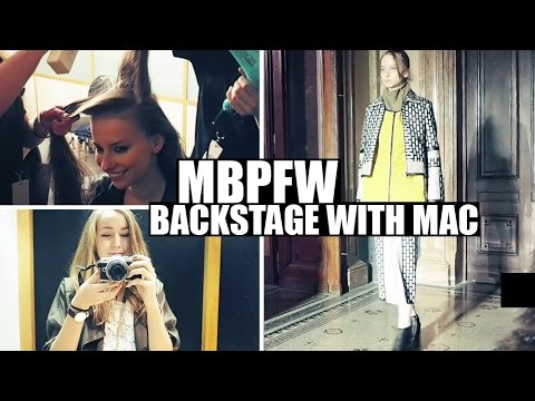VLOG | MBPFW & Backstage with MAC