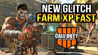 Black Ops 4 Zombies - New Invisibility Glitch! Level Up Fast (Updated)