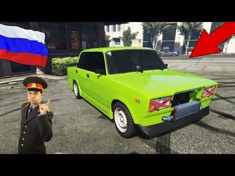 GTA 5 MOD : VAZ 2107 (Россия)