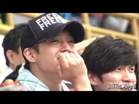 120701 Kim Hyun Joong(김현중) Soccer-angel's Smile^^ video