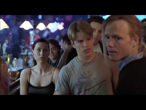 DISCUSSION DANS LE BAR - Will Hunting (1997, Gus Van Sant)