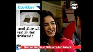 Katrina Kaif can't stop laughing over Salman Khan's funny tweets