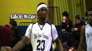 Underrated guard Lou Myers (Class of 2014) puts in work at Sneaker Villa Classic