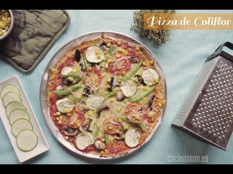 Pizza Sin Gluten de Coliflor: Receta para Celiacos