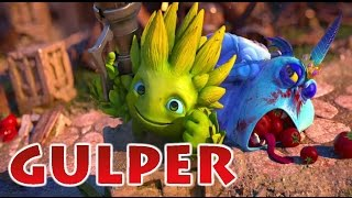 Skylanders Trap Team: Gulper Boss Fight (Sonic Lost World Music)