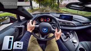 BMW i8 Protonic Red Edition POV Test Drive by AutoTopNL