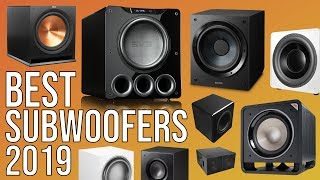 BEST SUBWOOFER 2019 | TOP 10 BEST SUBWOOFERS 2019 | HOME THEATER | MUSIC