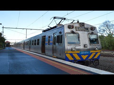 Hitachi at Williamstown - Metro Trains