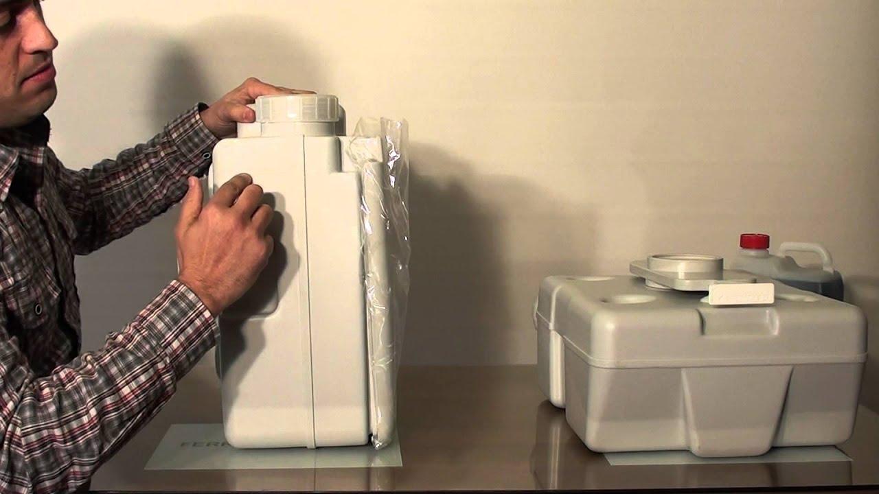 Diseno Baños Quimicos:Inodoro químico portátil Euro Platinium™ Large 32228 Campingaz