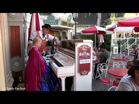 Alyssa Plays the Disneyland Piano!!