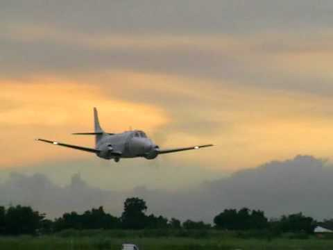 C-26 Metroliner low pass