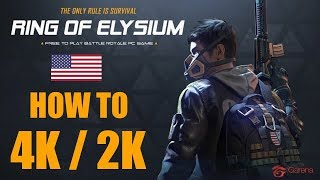 Ring of Elysium HowTo: Play in 1440p / 2160p / you name the resolution! [1920x1200 Limit FIX]