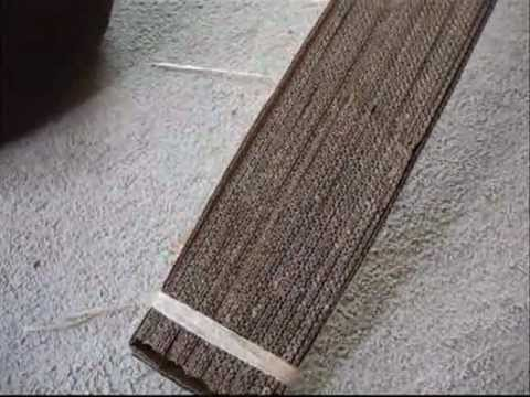 How to Make a Cat Scratcher for FREE!!