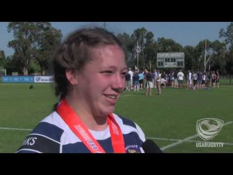 2013 Emirates Airlines USA Rugby DI Women's Collegiate MVP - Hope Rogers