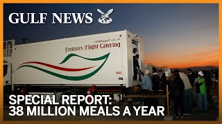 Emirates Flight Catering: 38 million meals a year