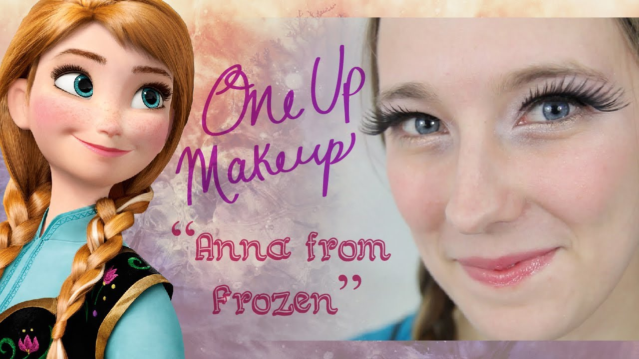 Anna Frozen Makeup Tutorial