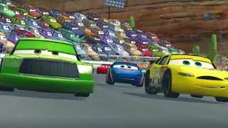 Cars 1 the Videogame 360 -No Com 66-  Lightning Mcqueen S2 VS ALL SKILL PISTON CUP CHAMP SUN VALLEY