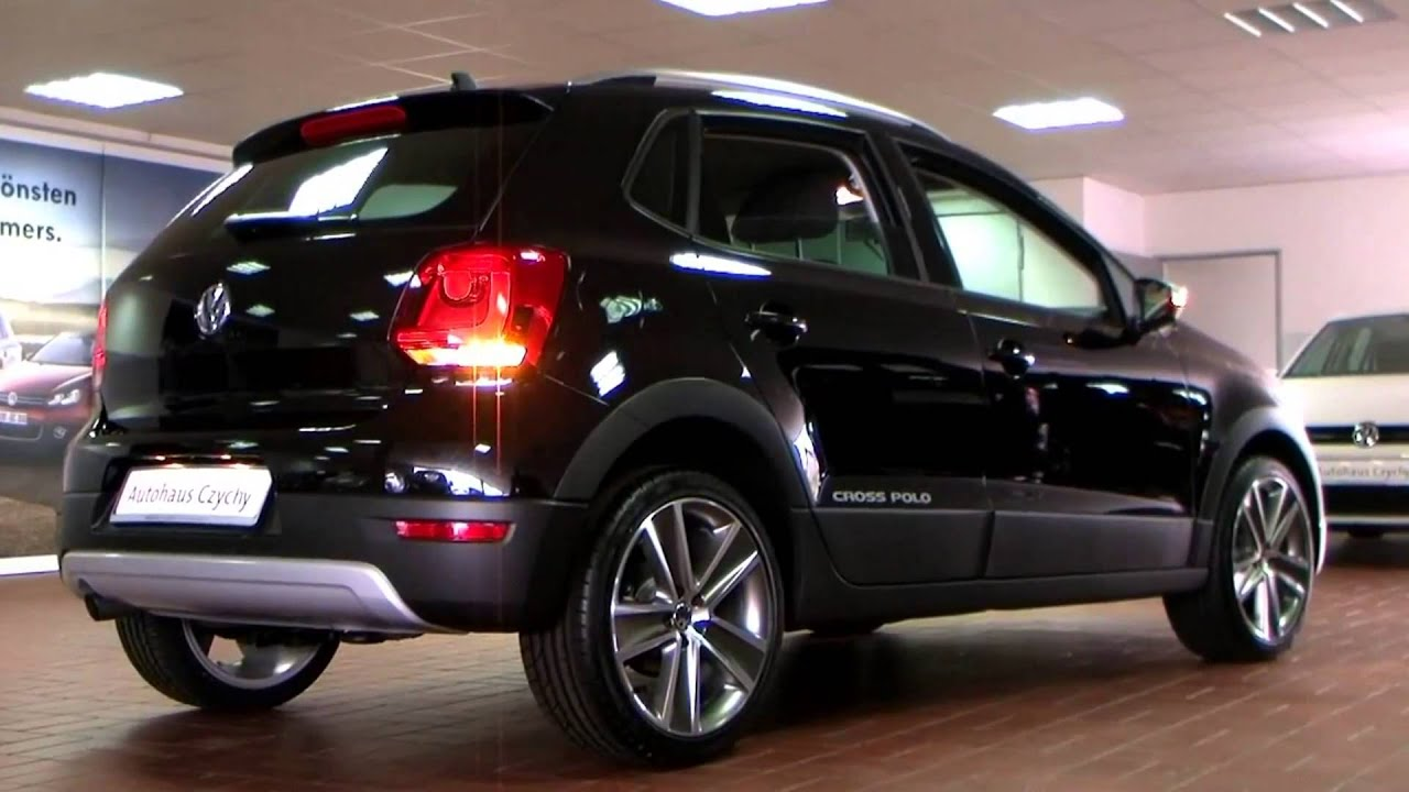 volkswagen polo cross 1 2 tsi 2011 deep black perleffekt bu008022 autohaus czychy youtube. Black Bedroom Furniture Sets. Home Design Ideas