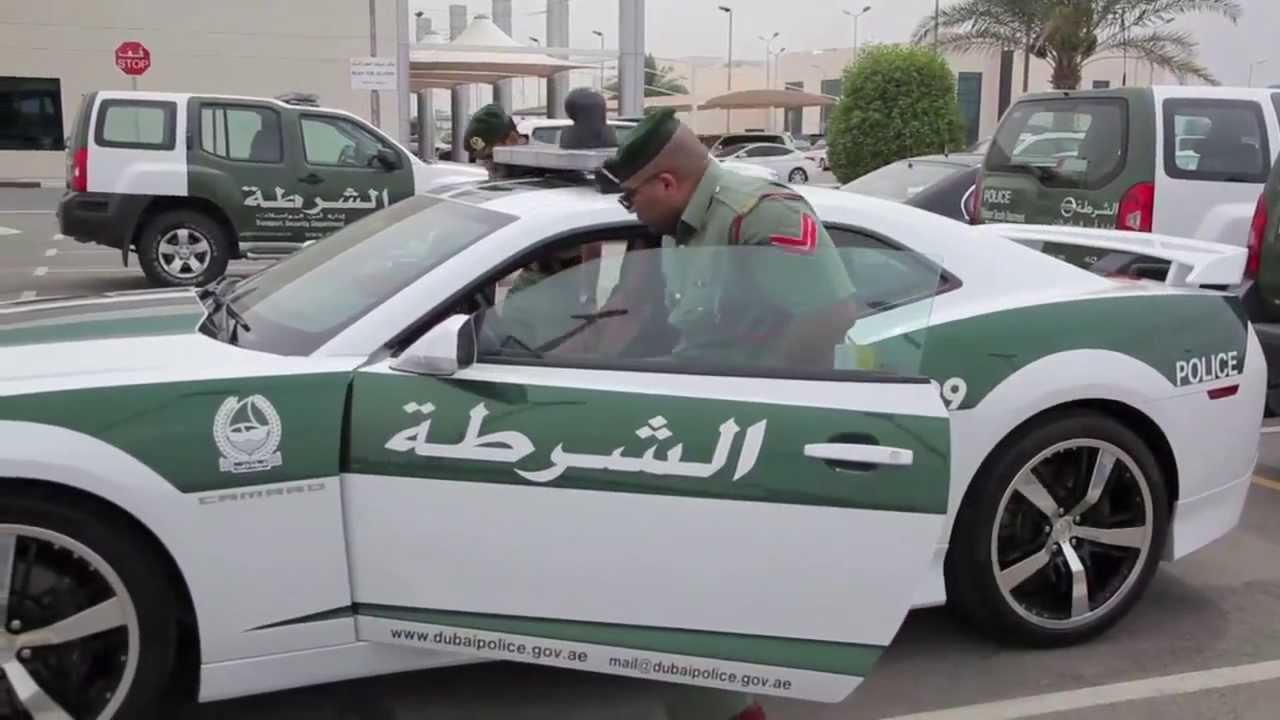 Dubai Police Al Ghandi Auto Chevrolet Camaro Voice