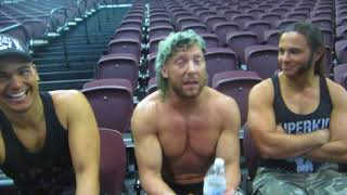 ROH Kenny Omega, Young Bucks Talk Arrow Stephen Amell, Chris Jericho, Elite Success Nov. 2017