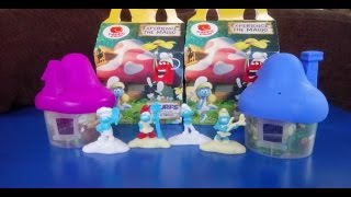 Smurfs The Lost Village Toys in Malaysia with McDonald