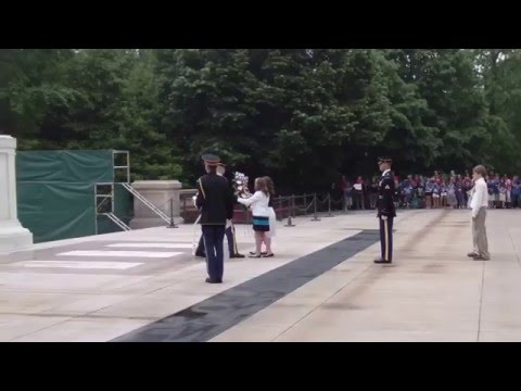 North Whitfield Middle School Wreath Laying at Tomb of the Unknown Soldier