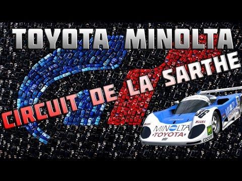 Circuit de La Sarthe com Toyota Minolta 88c-v