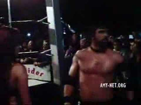 Amy Dumas Entrance - Uwf Show 4 20 07 video