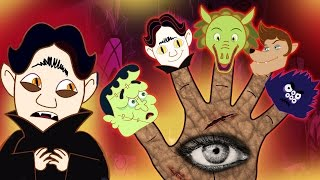 Hotel Transylvania Finger Family Part 1 | Spooky Nursery Rhymes | HooplaKidz Toons