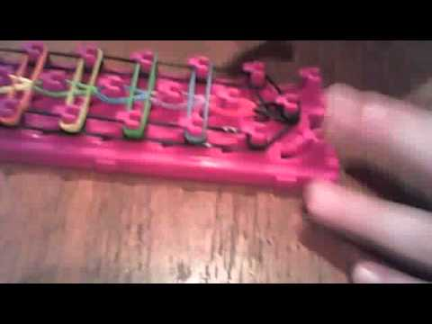 How to make a ladder bracelet on the crazy loom!