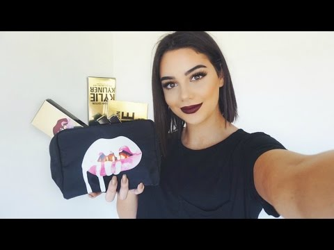 Kylie Cosmetics Birthday Collection Review. Tutorial & Giveaway!