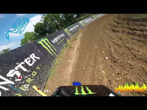 First GoPro Lap with Benoit PATUREL_Fiat Professional MXGP of France Ernèe 2017 #Motocross