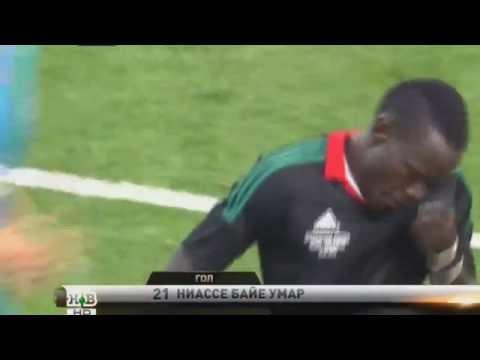 Baye Niasse Amazing Goal | Zenit St. Petersburg vs Lokomotiv Moscow | Russian Super Cup 2015 HD