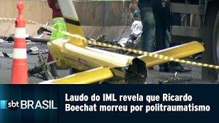 Laudo do IML revela que Ricardo Boechat morreu por politraumatismo   SBT Brasil (15/02/19)