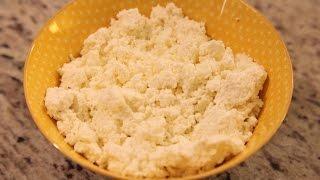 Вкусный, нежирный домашний творог (homemade cottage cheese)