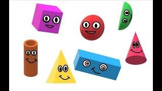 Color Songs - Learn Colors, Shape Songs, Teach Colors, Baby Toddler Preschool Nursery Rhymes