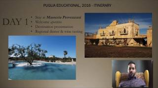 Puglia - October 2016 - Educational Trip for Agents