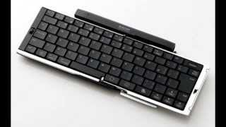 Elecom TK-FBP038 Folding Bluetooth 3.0 Keyboard