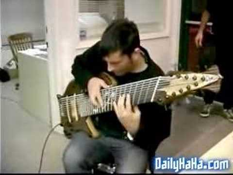 Jean Baudin; Bass guitar Super Mario theme song Video