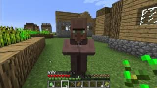 Minecraft - Выживание в суперплоском - Часть 1