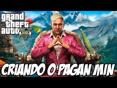 GTA V - Como fazer o Pagan Min do Far Cry 4 no ONLINE