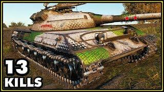 Object 430U - 13 Kills - World of Tanks Gameplay