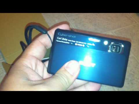 Sony Cyber-Shot DSC-TX7 Camera Unboxing