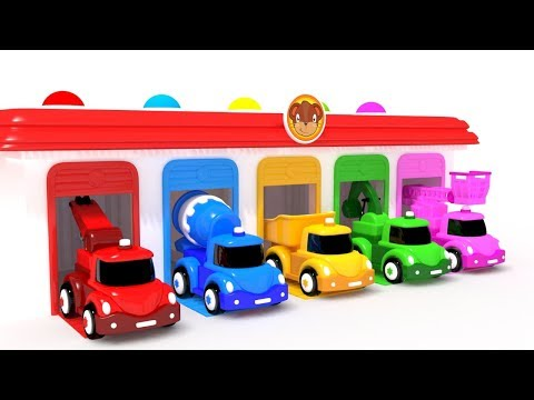 appMink Junior Colors for Children to Learn | Wooden Educational Toys | Toy Truck Educational Video