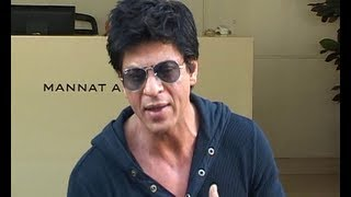 Shahrukh Khan describes the fight incident | SRK banned from Wankhede stadium.